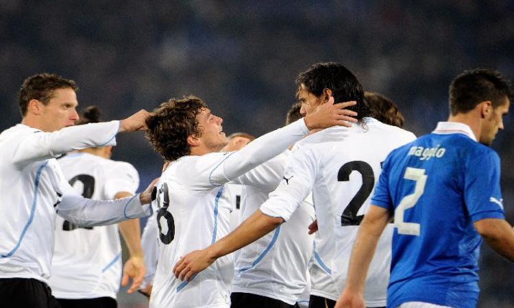 Ranking Fifa:| Uruguay 2°, 12esima l'Italia