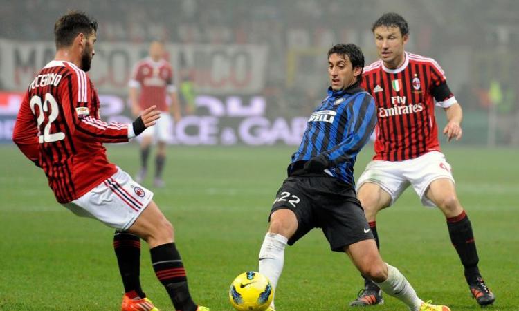 Inter: la tripletta di Milito nel derby contro il Milan VIDEO