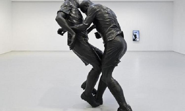 Zidane vs Materazzi, la testata diventa un'opera d'arte