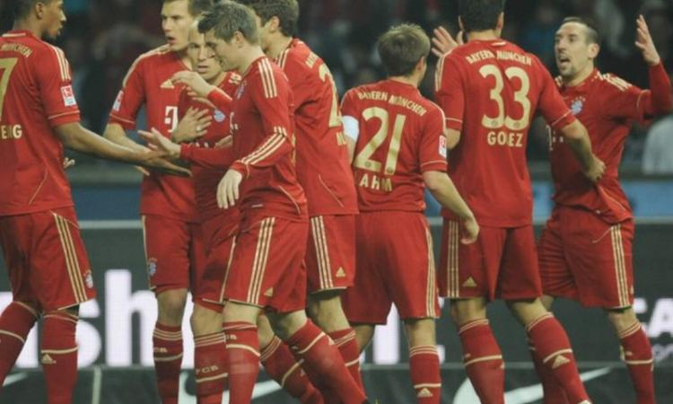 VIDEO Il Bayern Monaco se la gode all'Oktoberfest