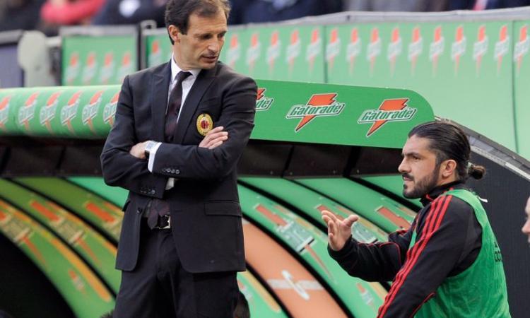 Milan, Gattuso e Nesta per il dopo Allegri