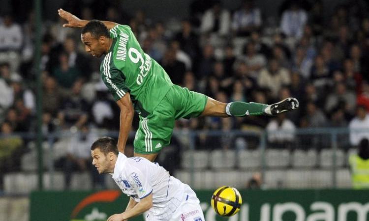 Ligue 1: Aubameyang, ex Milan, lancia il Saint-Etienne al 2.o posto!