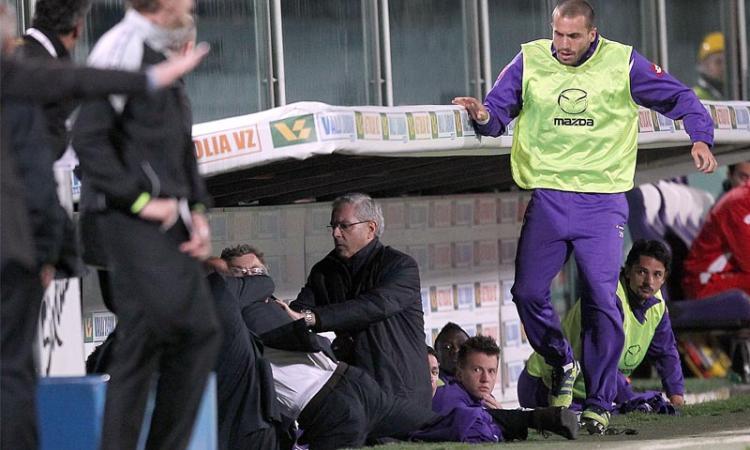 Fiorentina, Curva Fiesole 'Delio uno di noi'. Bocciati Ljajic e... Ranieri