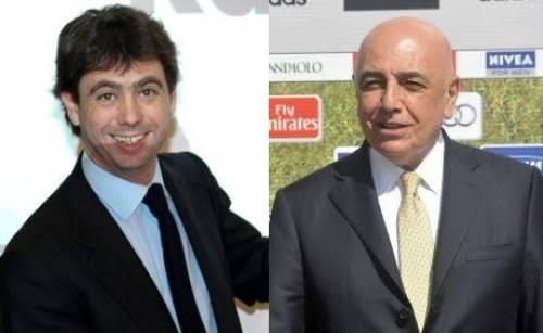 Agnelli-Galliani, la politica dell'ascensore: c'è chi sale e c'è chi scende