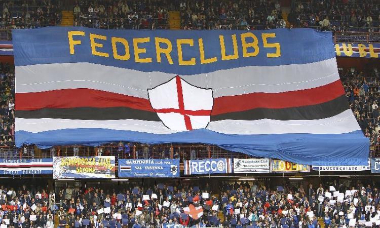 Sampdoria, la Fedeclubs durissima: 'Napoli chiagne e fotte - un anno dopo'