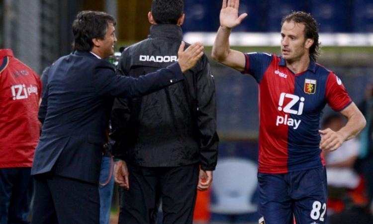 Genoa, Gilardino: 'Felicissimo di essere rimasto'