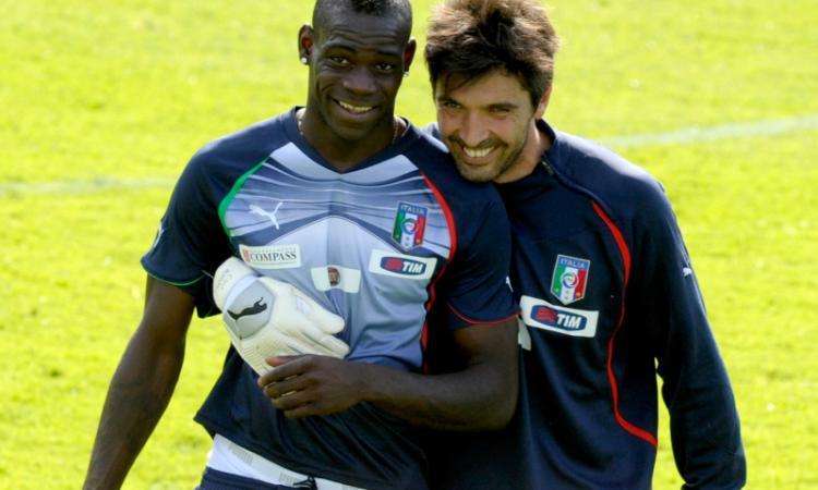 Buffon: 'Balotelli alla Juve, perché no?'
