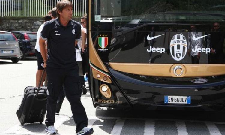 Ritiro Juve:  Conte spezza la monotonia