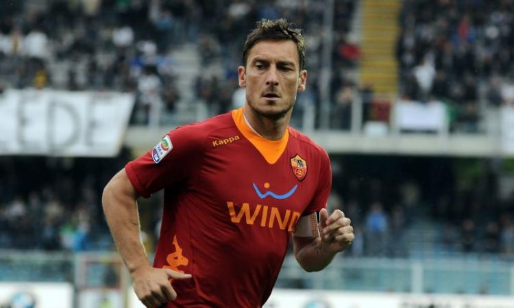 Roma: incontro per il rinnovo del contratto di Totti