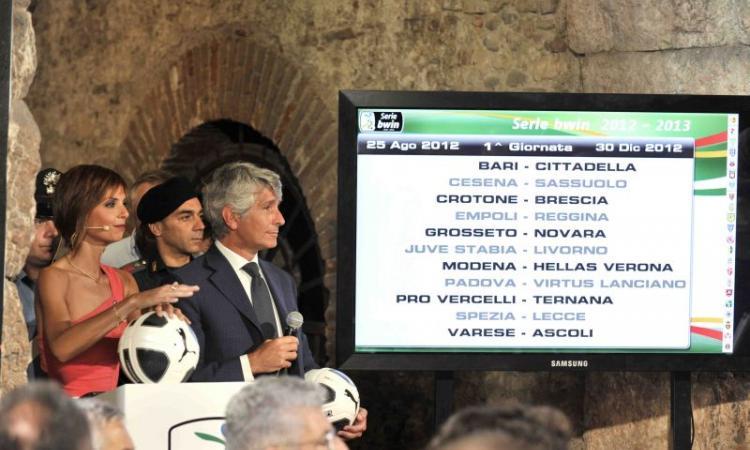 Serie B: programma anticipi e posticipi fino a fine ottobre