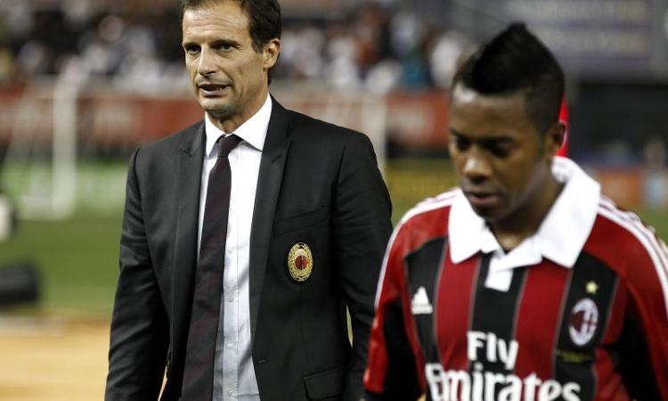 'Robinho vuole il Santos'; via a gennaio?