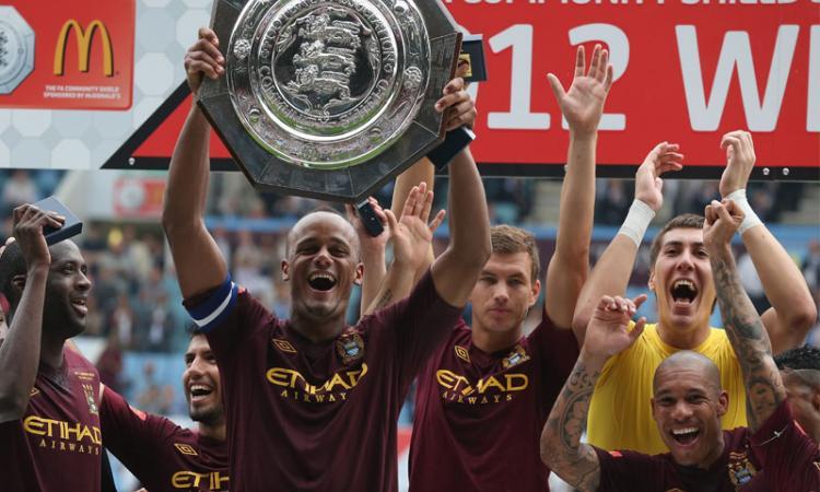 Community Shield: Man City-Chelsea 3-2, grazie a un super Tevez