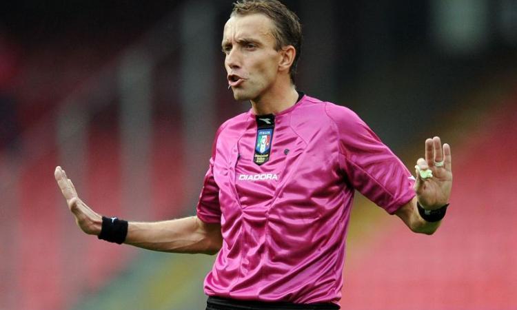 Juventus-Lazio: arbitra Mazzoleni, ecco gli assistenti