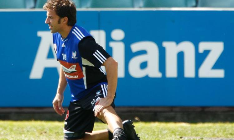 Del Piero out: Reggiana-Sydney 2-2