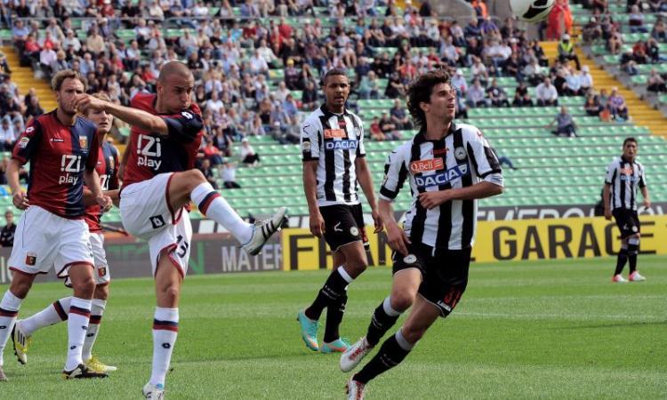 Udinese in Europa:| Fabbrini si gioca il futuro