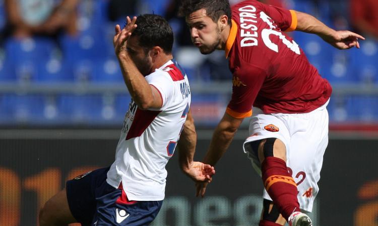 Roma, avanza Destro:| Si allena e vuole il Torino