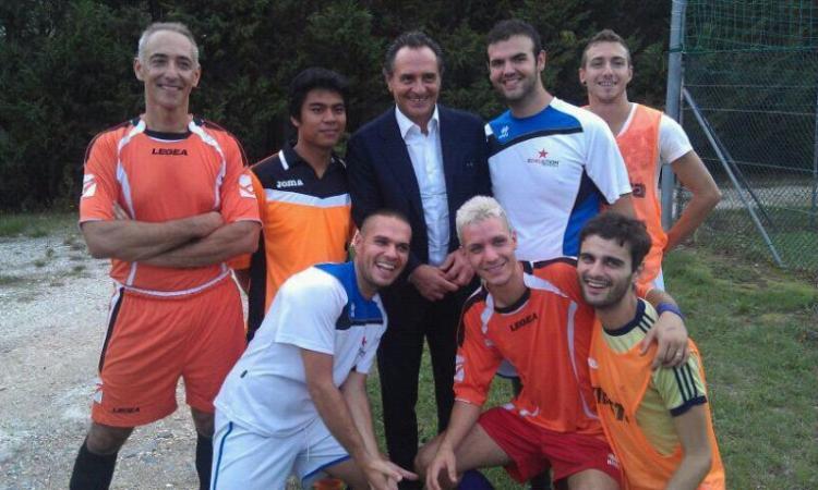Finocchiona cup: il saluto di Cesare Prandelli al torneo di calcetto gay