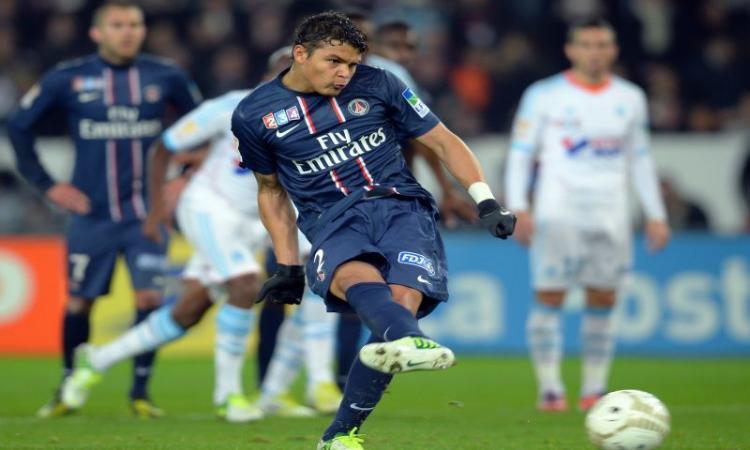Coupe de la Ligue: sbaglia Thiago Silva, il Psg esce ai rigori con il Saint Etienne