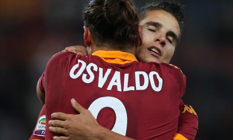 Roma a Udine: quel pugno di Osvaldo a Lamela...