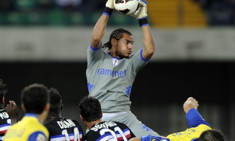 Sampdoria: il futuro della porta dipende da Romero