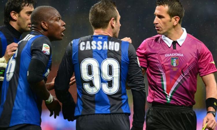 Capo degli arbitri insulta l'Inter: sospeso!