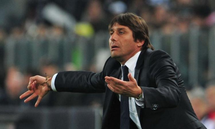La Juve vince, ma Conte s'arrabbia col giornalista che esulta al gol del Chelsea