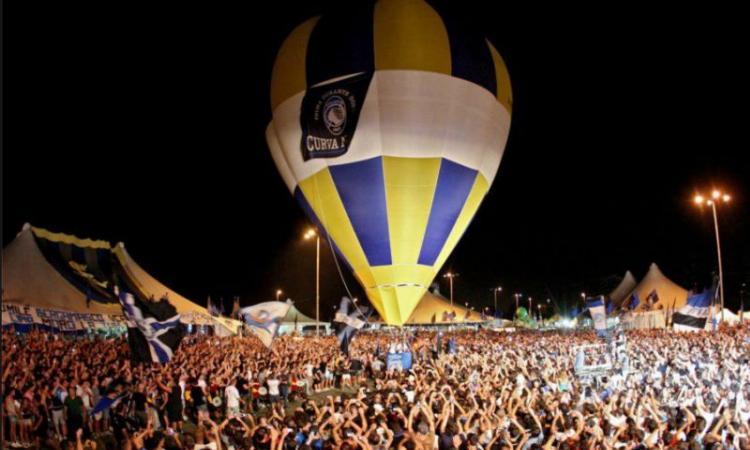 Festa della Dea, festa di popolo: la straordinaria passione della Curva Nord Atalanta contagia 50 mila tifosi