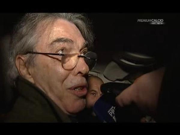 Inter, Moratti: 'Mazzarri ha valorizzato Alvarez e Jonathan' VIDEO