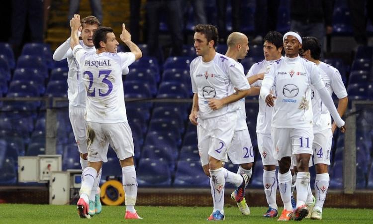 Serie A:  la Fiorentina tiene il ritmo; bene Juve e Inter; Napoli e Roma giù FOTOGALLERY