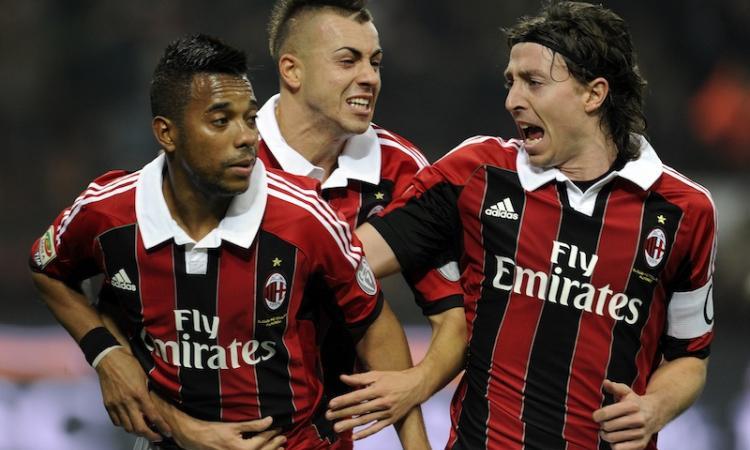 Allenamento Milan: |Montolivo a parte