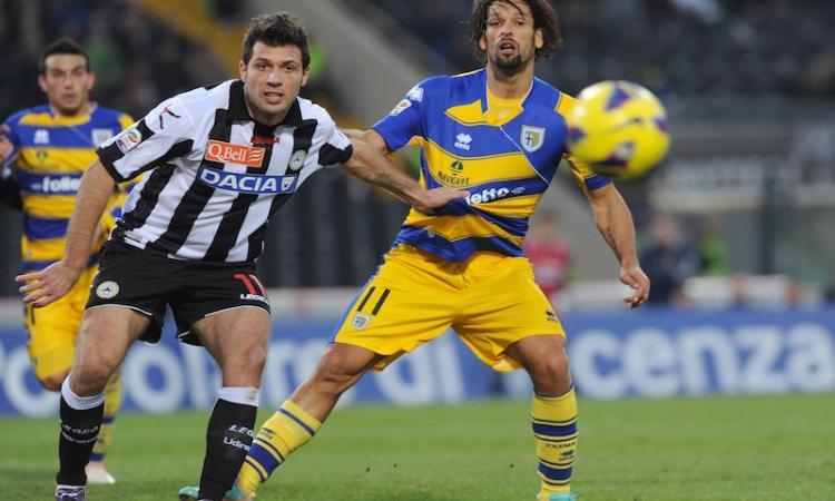 Amauri: 'Felice di aver rinnovato con il Parma'