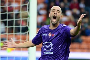 Borja Valero Milan-Fiorentina 2012-2013