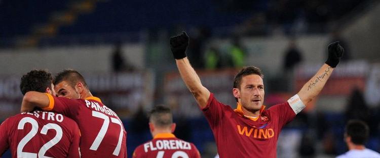 Roma, Totti: 'Vittoria dedicata a chi gioca di meno'