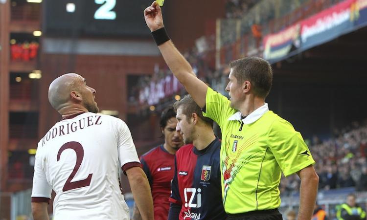 Convocati Torino: Rodriguez recupera per il Milan