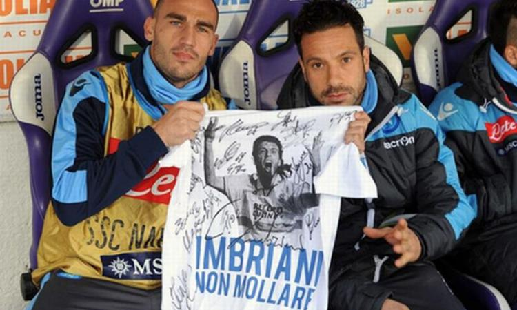 Napoli, Grava insegna ai giovani: 'La maglia si ama sempre'