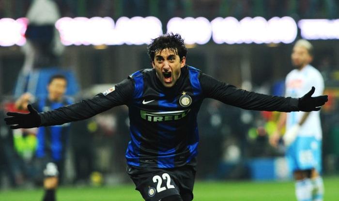 Stipendi Inter, podio argentino: Milito davanti a Cambiasso e Palacio