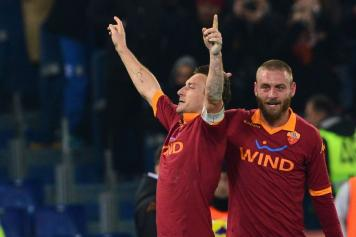 Roma Totti De Rossi