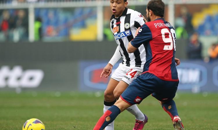 Udinese, Muriel: 'Posso giocare assieme a Di Natale'
