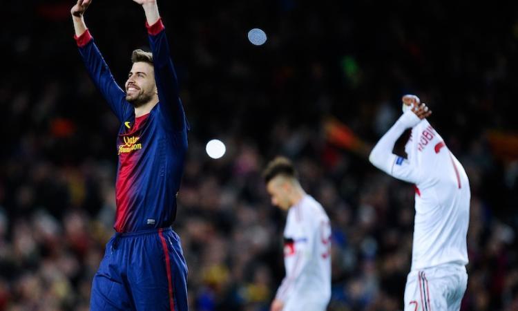 Piqué: rigore comico! Ancelotti: 'Gioca e stai zitto' VIDEO