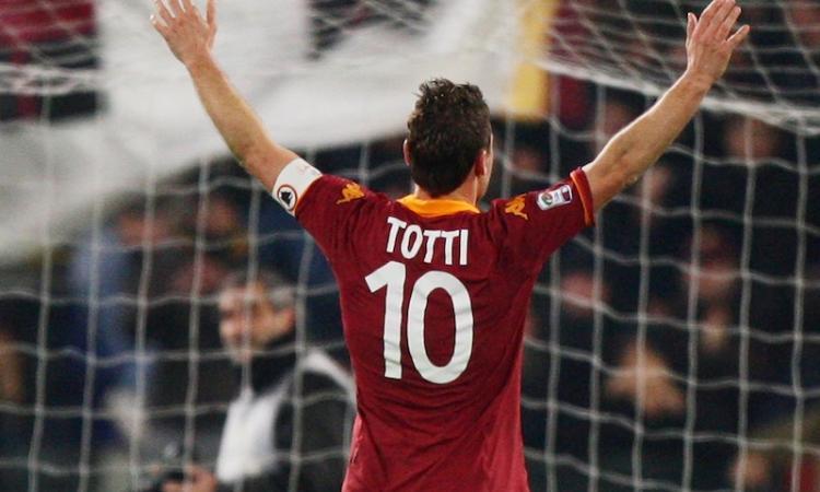 Romamania:| Totti, una leggenda