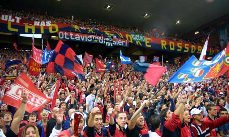 Genoa: contestazione alla squadra, giocatori respinti al momento del saluto