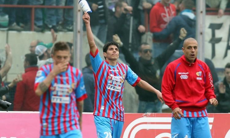 Catania: restano Barrientos, Maxi Lopez e Spolli