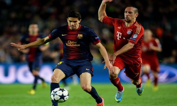 Barcellona: l'agente di Bartra parla di Napoli e Inter