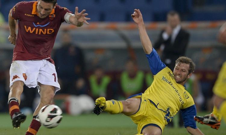 Roma: il rinnovo di Totti al derby