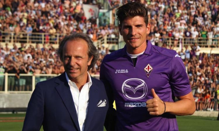 Mario Gomez: 'Mi voleva il Real, ma ho scelto la Fiorentina'
