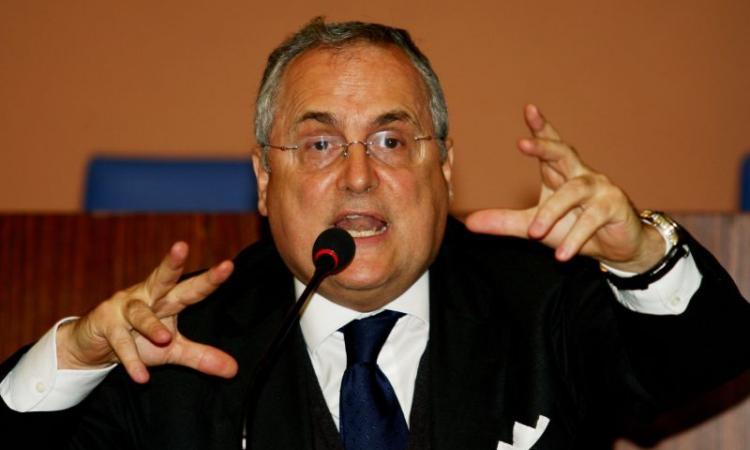 Lazio, Lotito: 'Mercato? I tifosi devono essere stracontenti'