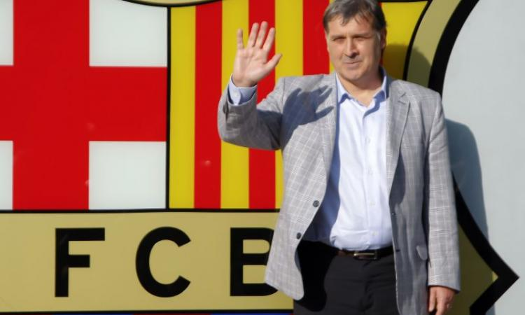 Barcellona, Martino: 'Cerchiamo alternative al tiki-taka'