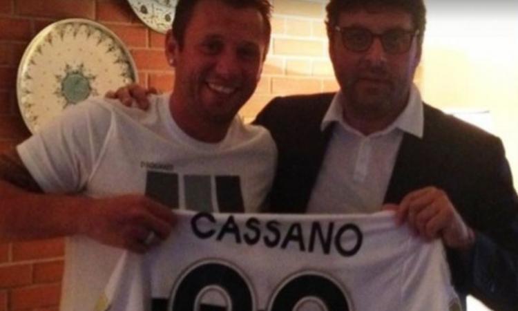 Parma, Leonardi definisce il futuro di Cassano VIDEO
