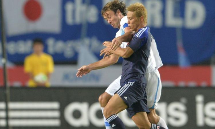 Honda: in gol nel 3-1 del Giappone contro il Ghana