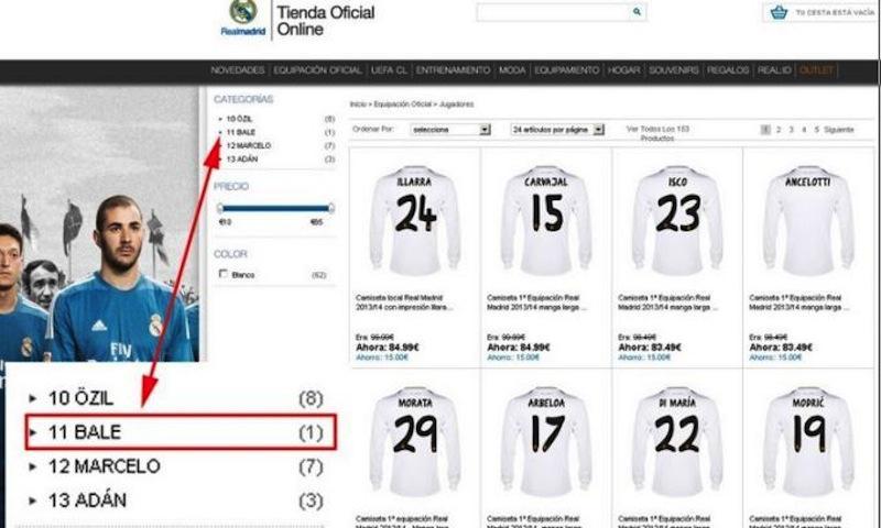 Clamoroso Real Madrid: in vendita la maglia di Bale prima del suo ...